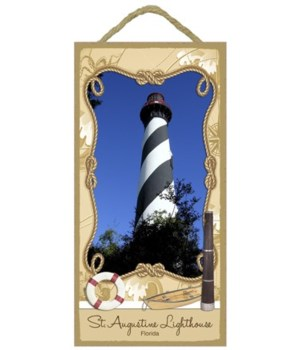 St. Augustine Lighthouse - Florida 5x10