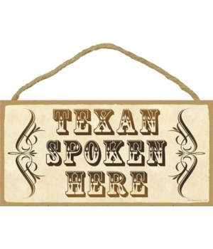 Texan Spoken Here 5x10