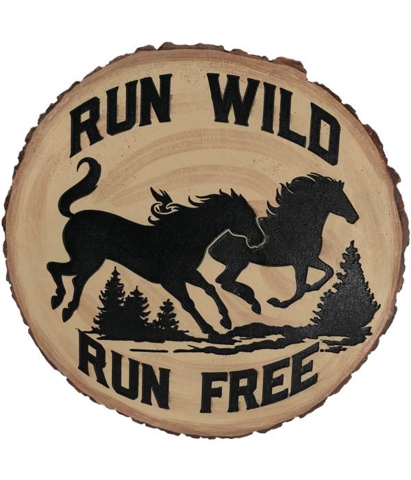 HORSES RUN WILD STEPPING STONE