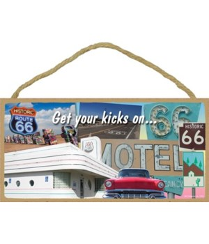 Get your kicks on… (collage of Route 66