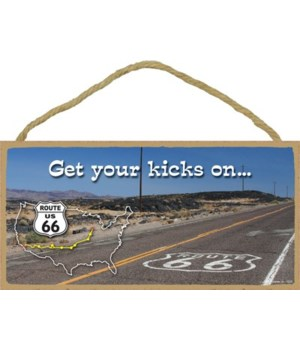 Get your kicks on… (road with Route 66 s