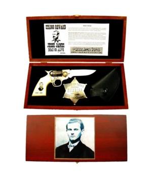 Jesse James knife set