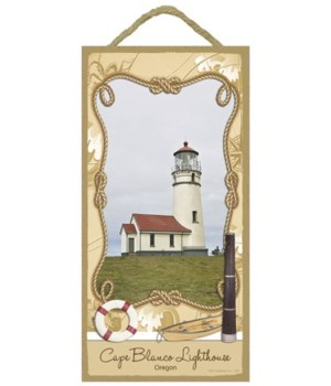 Cape Blanco Lighthouse - Oregon 5x10