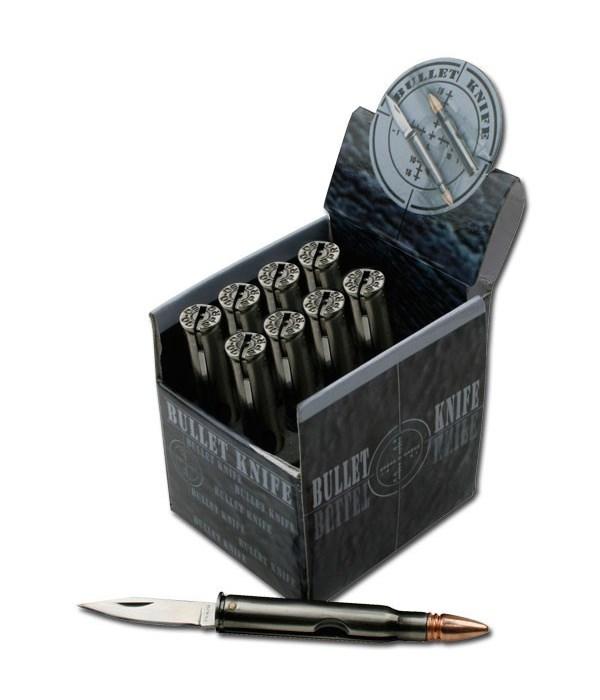 Bullet Knife (4cm) - 12pc. Display
