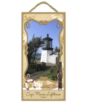 Cape Meares Lighthouse - Oregon 5x10