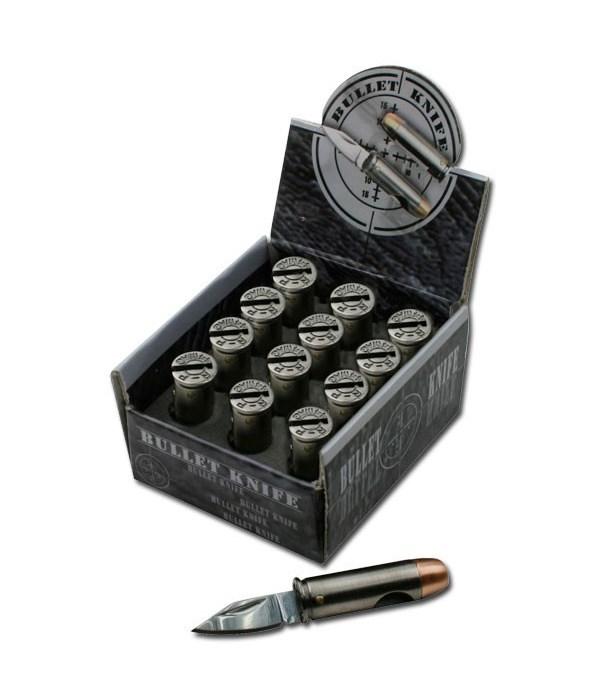 Bullet Knife (3cm) 12PC