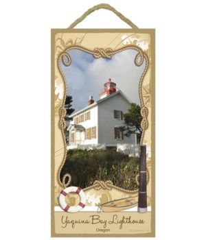 Yaquina Bay Lighthouse - Oregon 5x10
