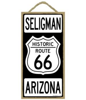 Historic ROUTE 66 Seligman, Arizona (bla