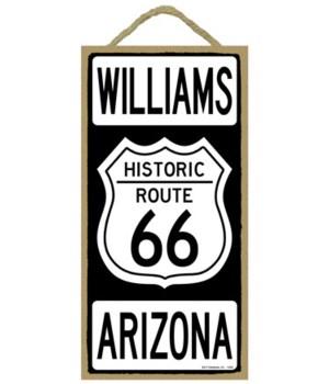 Historic ROUTE 66 Williams, Arizona (bla