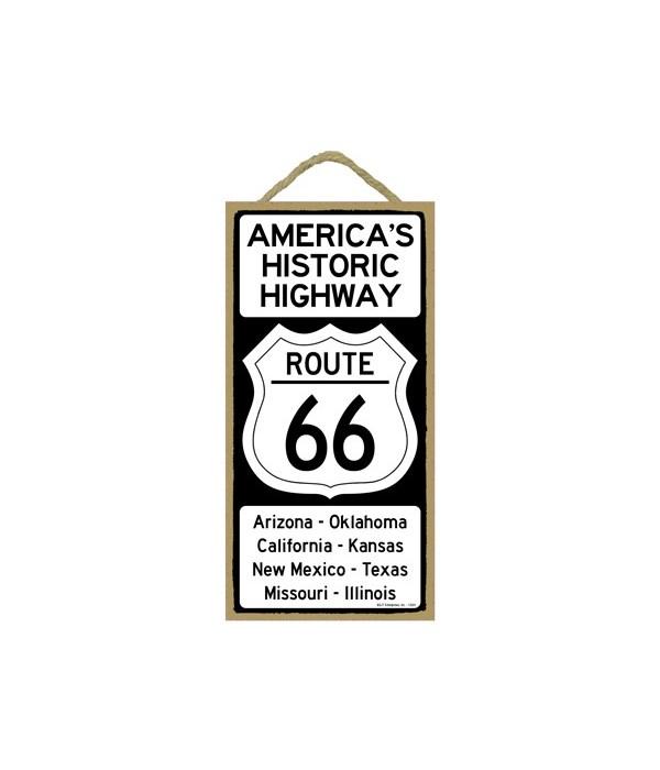 AMERICA'S HISTORIC HIGHWAY ROUTE 66 Ariz