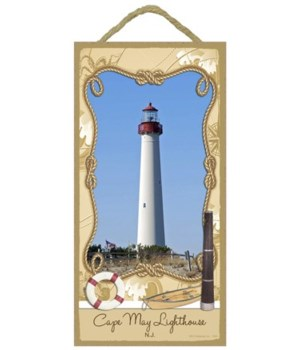 Cape May Lighthouse - New Jersey 5x10