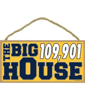 The Big House 109,901 (navy & gold) 5x10