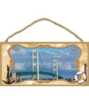 Mackinac Bridge, Michigan 5x10