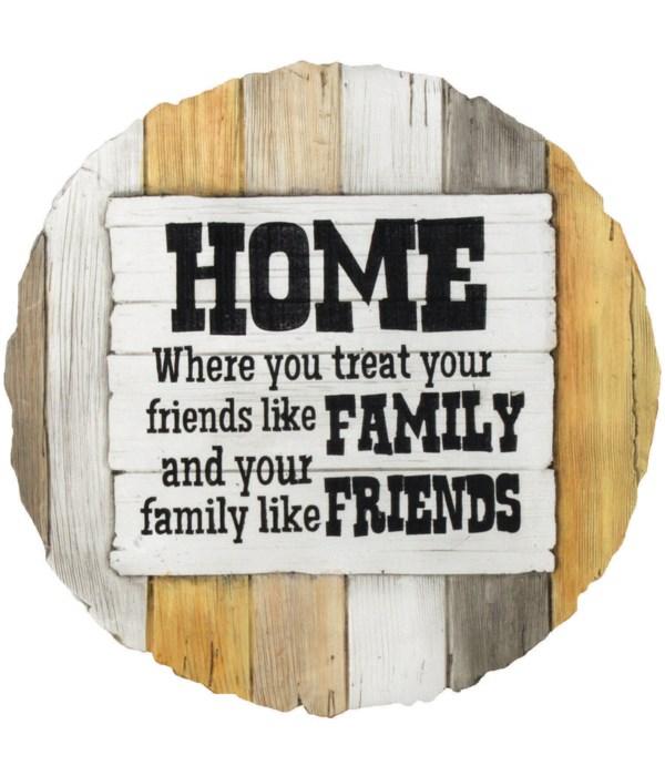 FRIENDS LIKE FAMILY STEP STONE