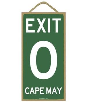Exit 0 Cape May 5x10