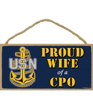 Proud Wife of a CPO (Chief Petty Officer