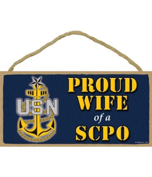 Proud Wife of a SCPO (Senior Chief Petty