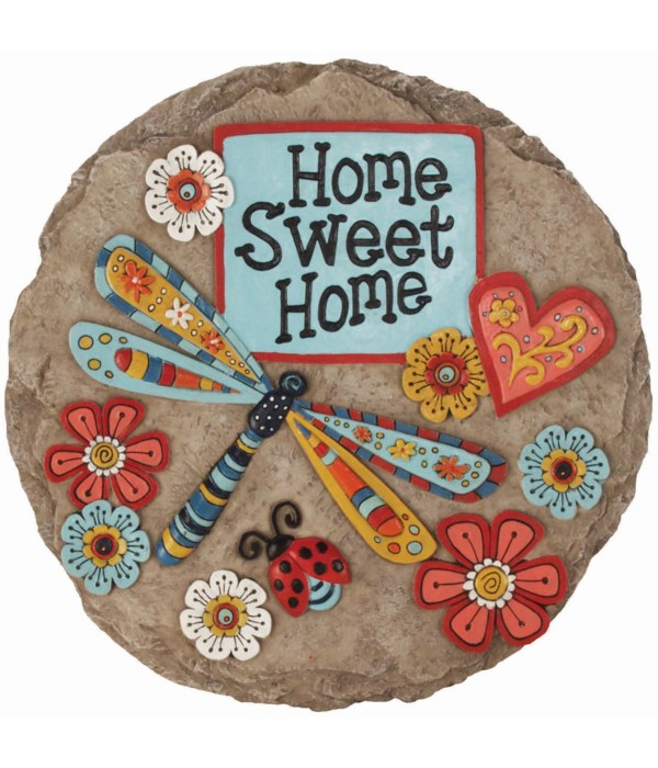 HOME DRAGONFLY STEPPING STONE