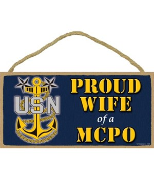 Proud Wife of a MCPO (Master Chief Petty