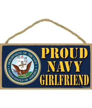 Proud Navy Girl Friend 5x10