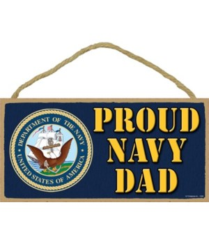 Proud Navy Dad 5x10