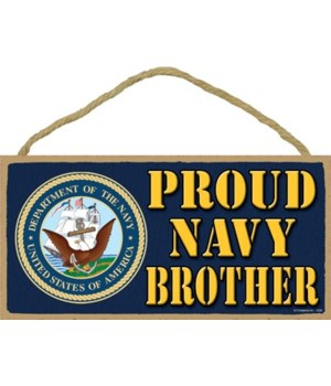 Proud Navy Brother 5x10