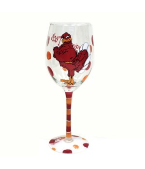 VA-T Drinkware Wine Glass 12oz