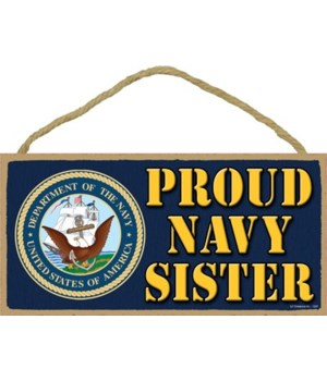 Proud Navy Sister 5x10