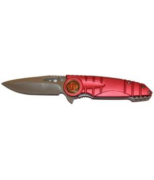 """K-3 Fire Dept. knife 4.8"""" S/A"""