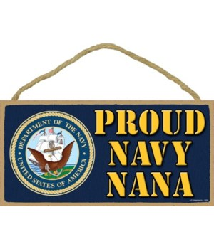 Proud Navy Nana 5x10