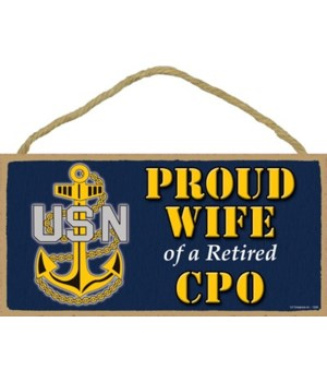 Proud Wife of a CPO Retired 5x10