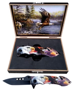 "Eagle knife 5"" S/A Boxed"