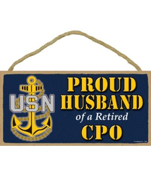 Proud Husband of a CPO Retired 5x10