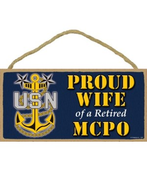 Proud Wife of a MCPO Retired 5x10