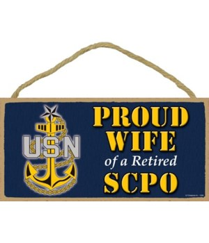 Proud Wife of a SCPO Retired 5x10