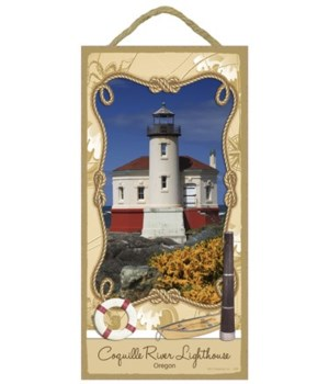 Coquille River Lighthouse - Oregon 5x10