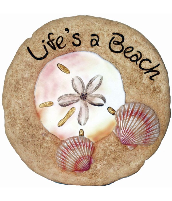 LIFE'S A BEACH STEPPING STONE