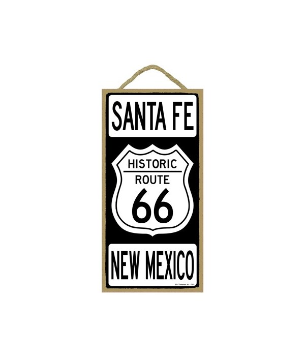 Historic ROUTE 66 Santa Fe, New Mexico (
