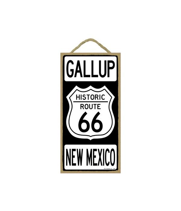 Historic ROUTE 66 Gallup, New Mexico (bl