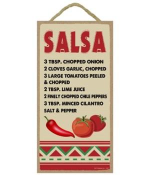 Salsa - Recipe 5x10
