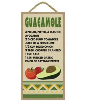 Guacamole - Recipe 5x10