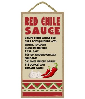 Red Chile Sauce - Recipe 5x10