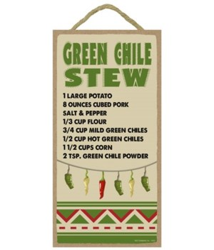 Green Chile Stew - Recipe 5x10