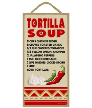 Tortilla Soup - Recipe 5x10
