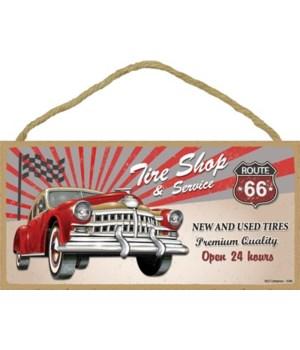 Tire Shop & Service Route 66 5x10