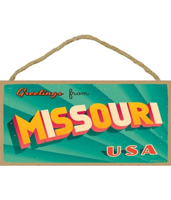 Greetings from Missouri USA (postcard lo