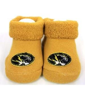 U-MO Infant Booties Yellow