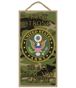 Army strong - Be all that you can be (Ar