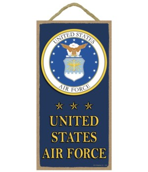 United States Air Force (with logo and s