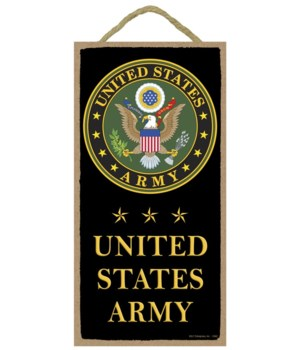 United States Army (with logo and stars)